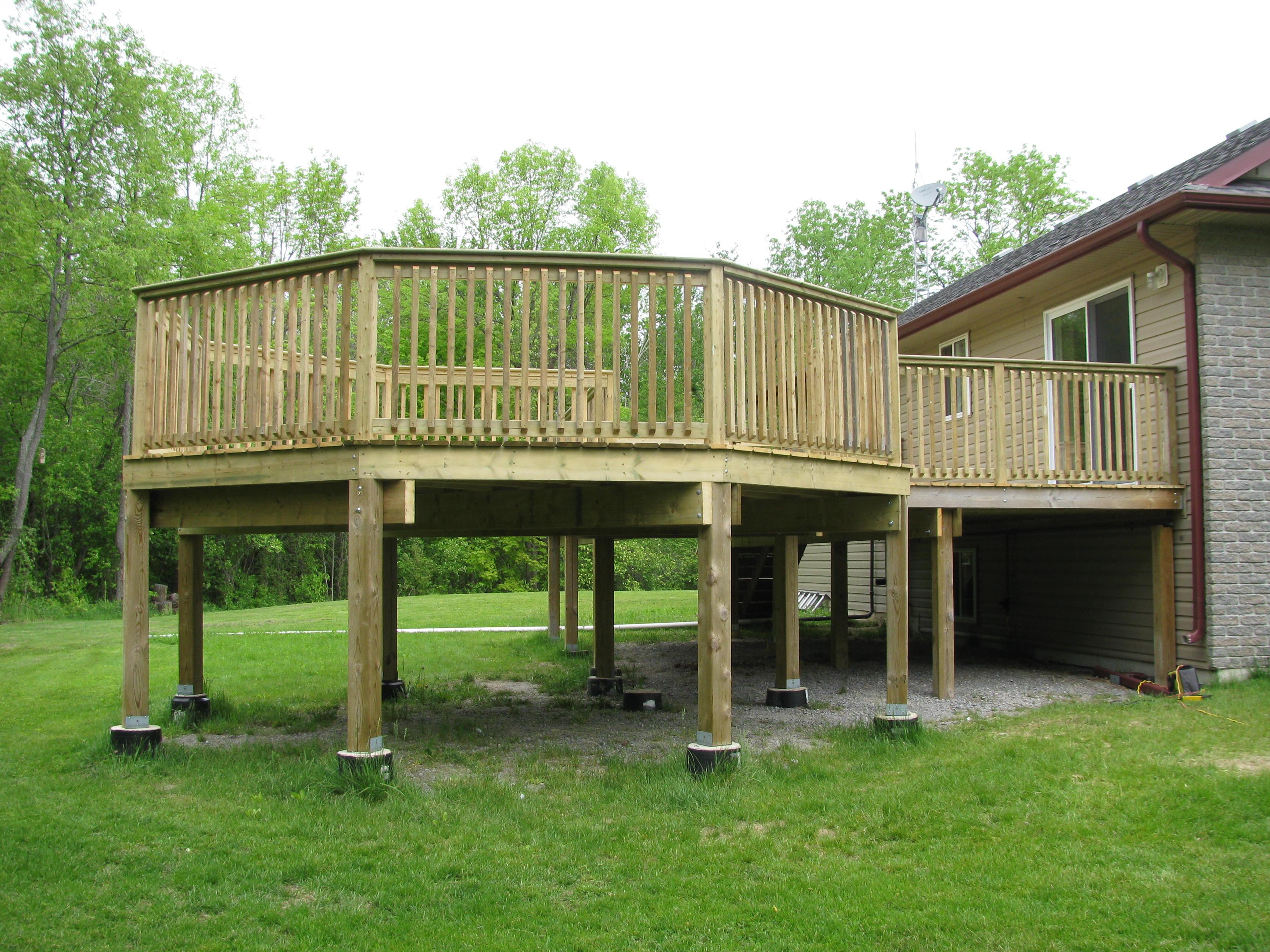 deck 8 p e t custom carpentry